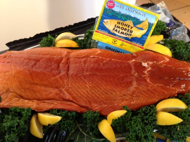 Honey Smoked Salmon Calories and Nutrition Facts ... |Honey Smoked Salmon