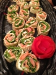 Honey Smoked Salmon Pinwheel