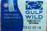 Gulf Wild Tag
